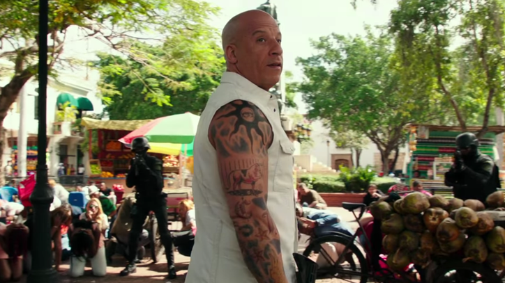Watch Vin Diesel Bike Through Tidal Wave in New 'XXX' Movie Trailer