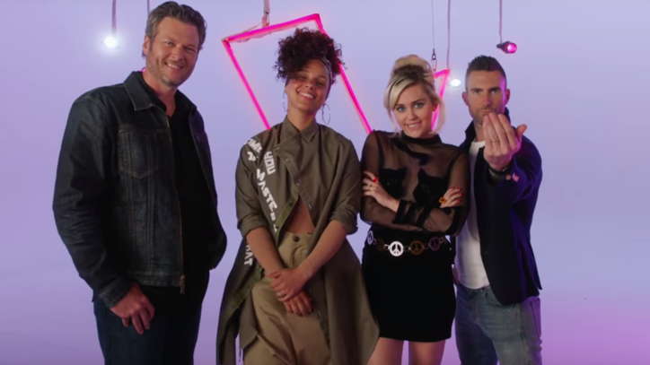 See Miley Cyrus, Alicia Keys' First Look 'The Voice' Trailer