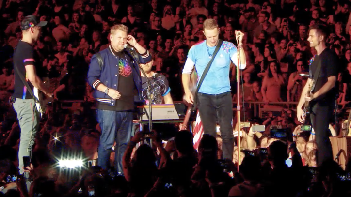 Watch Coldplay's Powerful 'Nothing Compares 2 U' Cover With James Corden