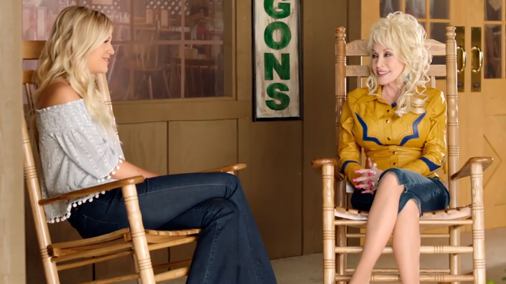 See Dolly Parton and Kelsea Ballerini Play 'Real or Fake'