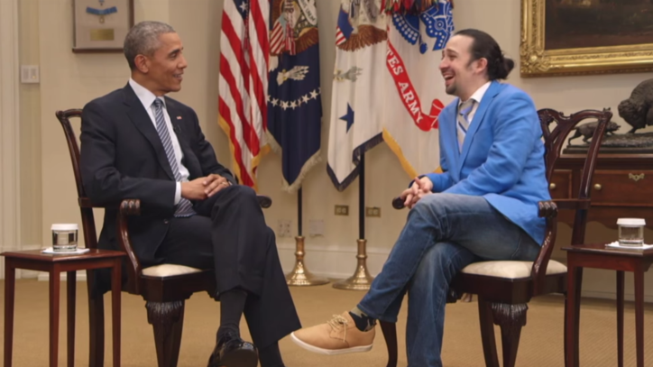Watch PBS' 'Hamilton's America' Teaser featuring Lin-Manuel Miranda, Obama