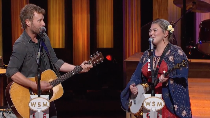See Dierks Bentley, Elle King Duet on 'Jackson' at the Opry