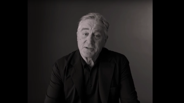 See Robert De Niro Eviscerate Trump: 'I'd Like to Punch Him in the Face'