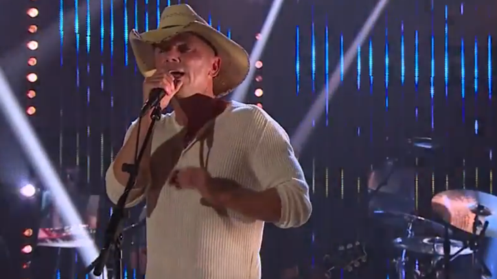See Kenny Chesney's Politically Charged 'Noise' on 'Corden'