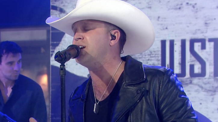 See Justin Moore's Seductive 'Somebody Else Will' on 'Today'