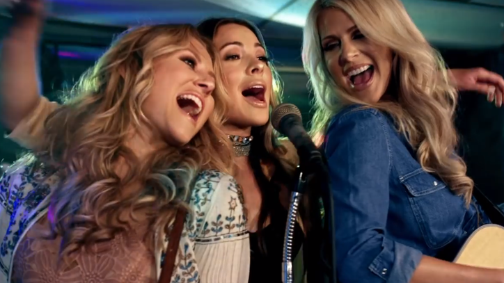 See Runaway June's Bubbly 'Lipstick' Video