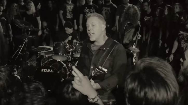 Watch Metallica's Combative New 'Halo on Fire' Video
