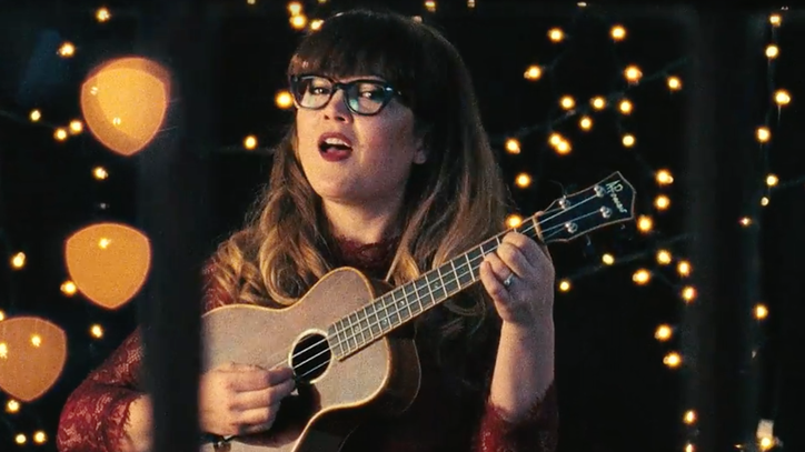 Watch Sara Watkins' Twinkling Christmas Video 'The Holidays With You'