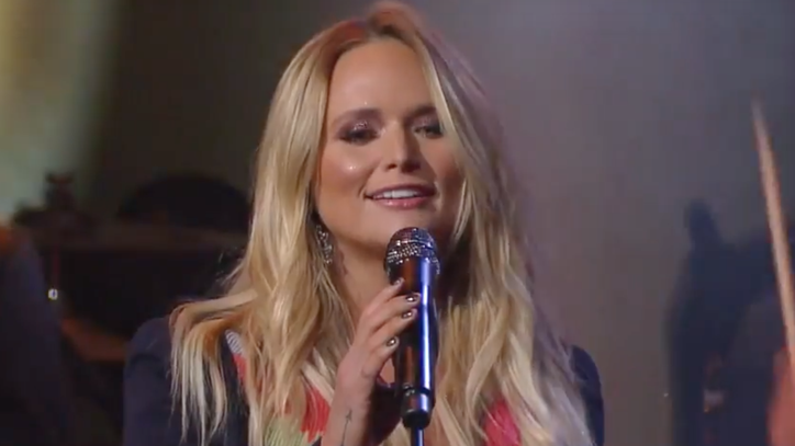 See Miranda Lambert's Lively 'Highway Vagabond' on 'Colbert'