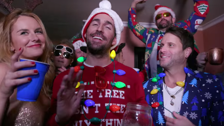 See Jake Owen, Parmalee Get Lit in 'Christmas Spirits' Video