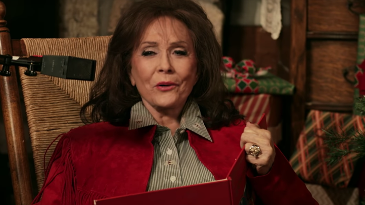 See Loretta Lynn Roast St. Nick With 'To Heck With Old Santa Claus'