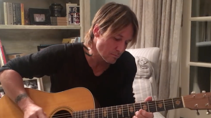 See Keith Urban's Intimate Acoustic Tribute to George Michael, Bowie