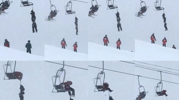 How a Pro Slackliner Rescued an Unconscious Skier Dangling From a Chairlift
