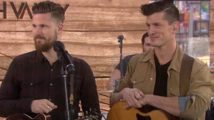 See High Valley's Driving 'Make You Mine' on 'Today'