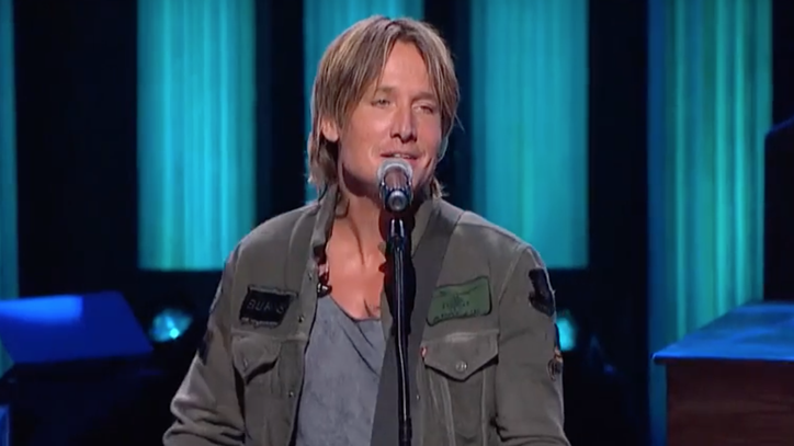 See Keith Urban's Stunning 'Blue Ain't Your Color' on the Grand Ole Opry