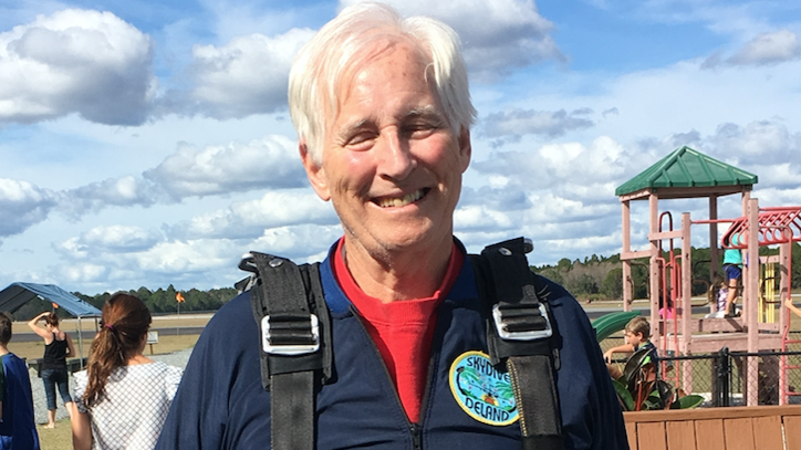An Interview With a 74-Year-Old First-Time Sky Diver (Who Is Also My Father)