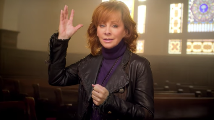 Watch Reba McEntire's Spiritual 'Back to God' Video