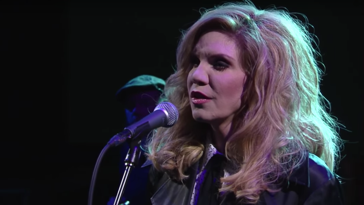 Watch Alison Krauss' Spellbinding 'I Never Cared for You' on 'Colbert'