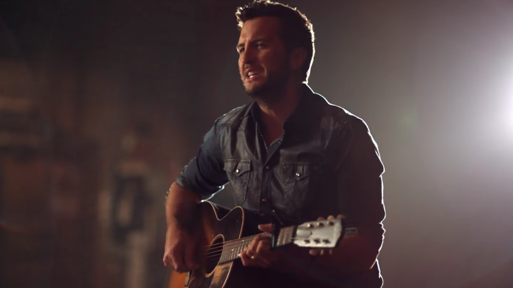See Luke Bryan's Family Photos in Reflective 'Fast' Video