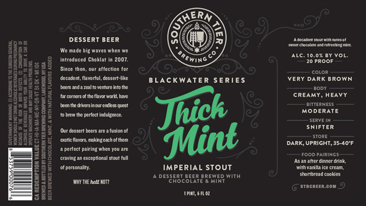 Meet Thick Mint, A Craft Beer Inspired by Girl Scout Cookies' Thin Mints
