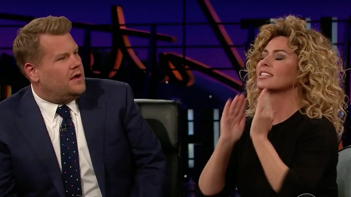 Shania Twain Talks Stage Fright on 'Corden': 'I Literally Peed Myself'