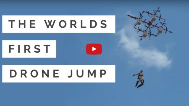 Skydiving, Now With Drones