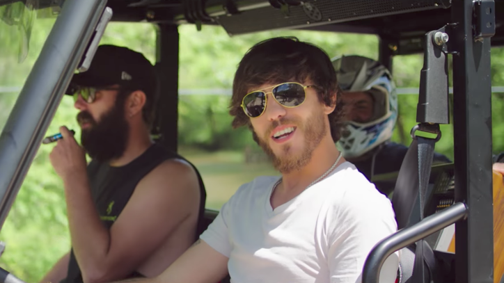 See Chris Janson Party With Luke Bryan in Lively 'Fix a Drink' Video