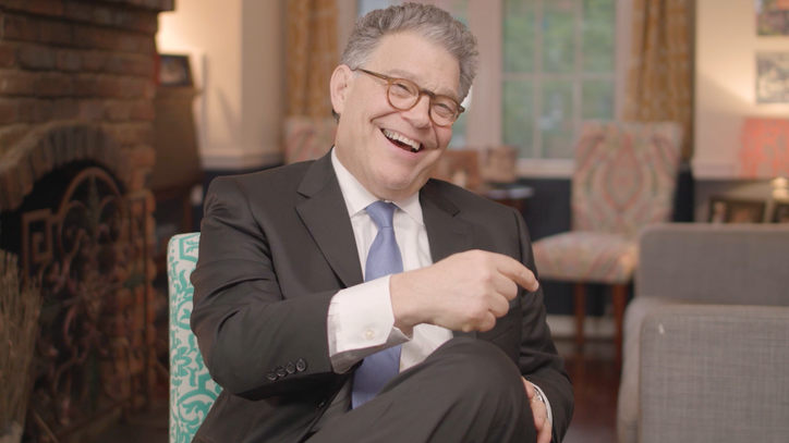 Al Franken Talks Grilling Trump Appointees, Impersonating Mick Jagger