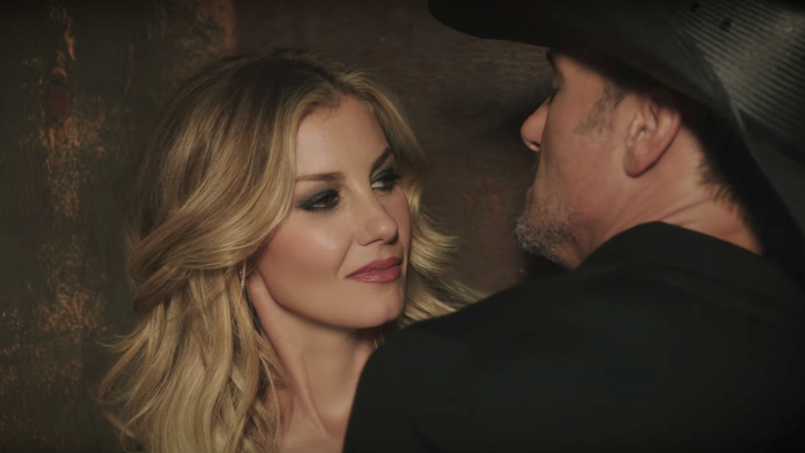 Watch Tim McGraw, Faith Hill's Smoldering 'Speak to a Girl' Video