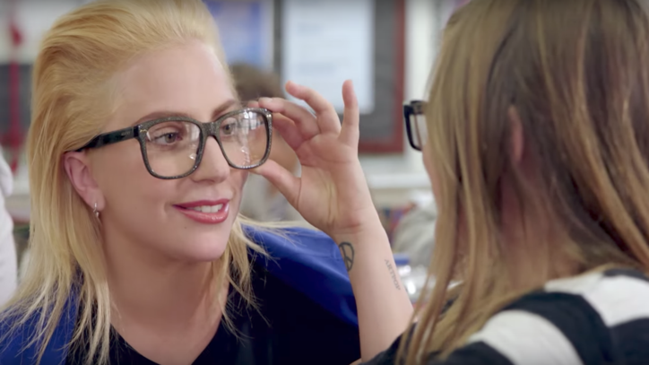 See Lady Gaga Surprise Students as Substitute Teacher in PSA