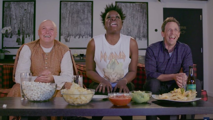 Watch Leslie Jones' Wild 'Game of Thrones' Reactions on 'Seth Meyers'