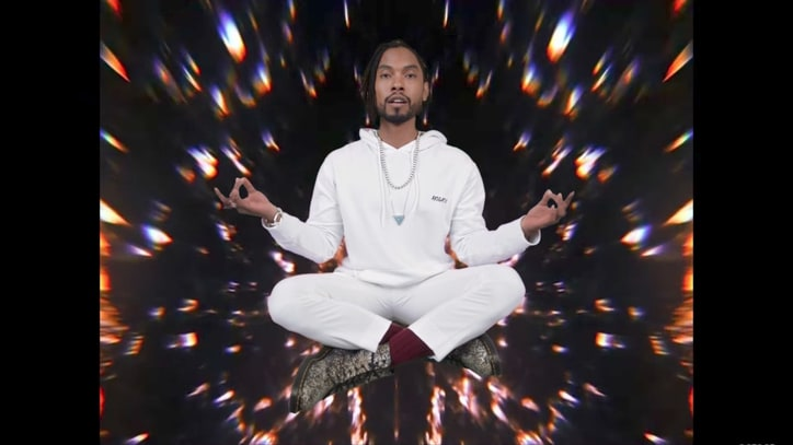 Watch Miguel's Wild Bubble Bath Party in 'Sky Walker' Video