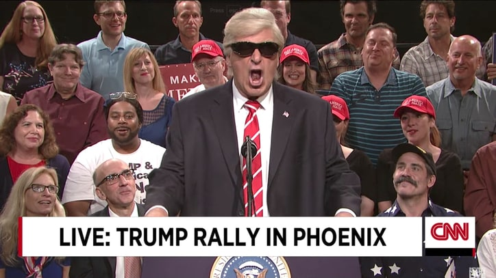 See Alec Baldwin Mock Trump's Charlottesville Speech on 'Weekend Update'