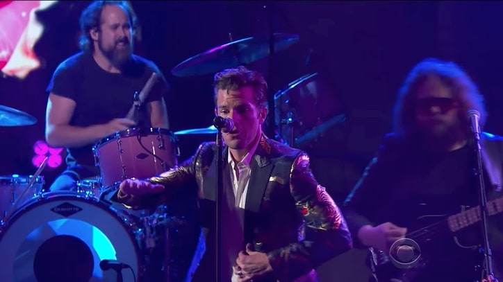 Watch the Killers Perform Swaggering 'The Man' on 'Colbert'