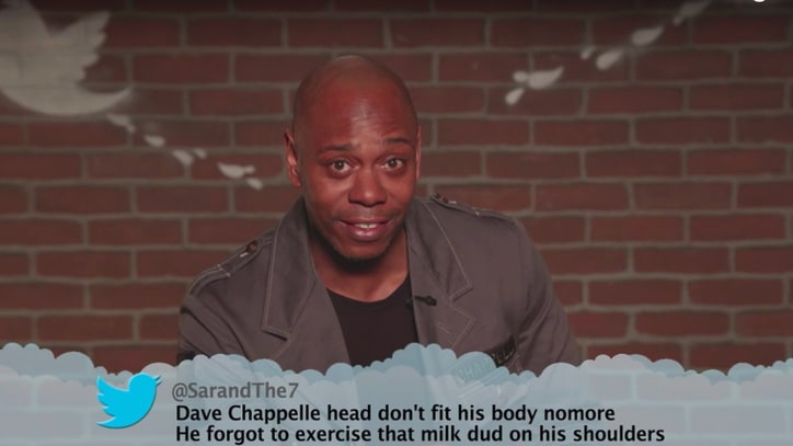 Watch Dave Chappelle, Alec Baldwin Read Mean Tweets on 'Kimmel'