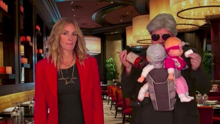 See Julia Roberts Reenact Entire Film Career With James Corden