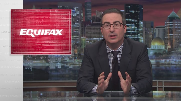 Watch John Oliver Lambaste Equifax's Cybersecurity Disaster