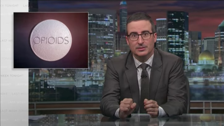 Watch John Oliver Blast Trump's Plan to Combat Opioid Addiction With Ads