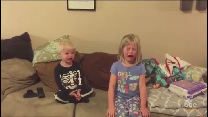 Watch Jimmy Kimmel Prank Kids With Annual Halloween Candy Bit