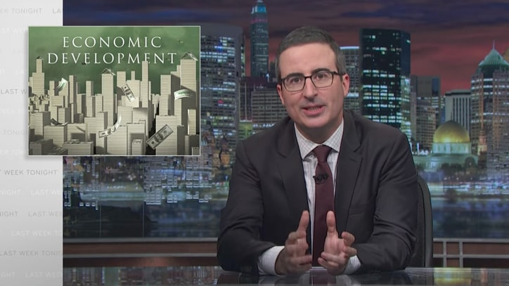 Watch John Oliver on Why It's Absurd to Give Amazon a Tax Break
