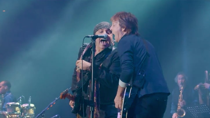 Watch Paul McCartney Join Steven Van Zandt for Raucous Beatles Cover