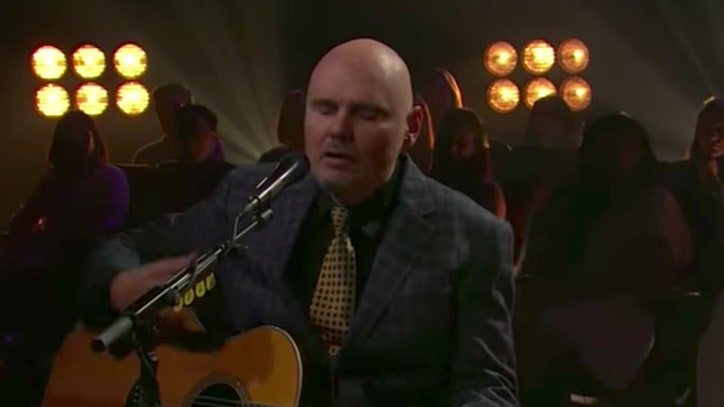 See Billy Corgan's Plaintive 'The Spaniards' Performance on 'Corden'