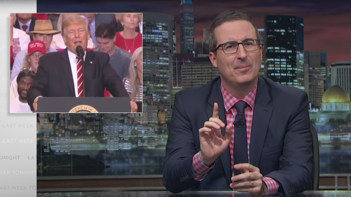 Watch John Oliver Break Down Trump's Three Dangerous Manipulation Tactics