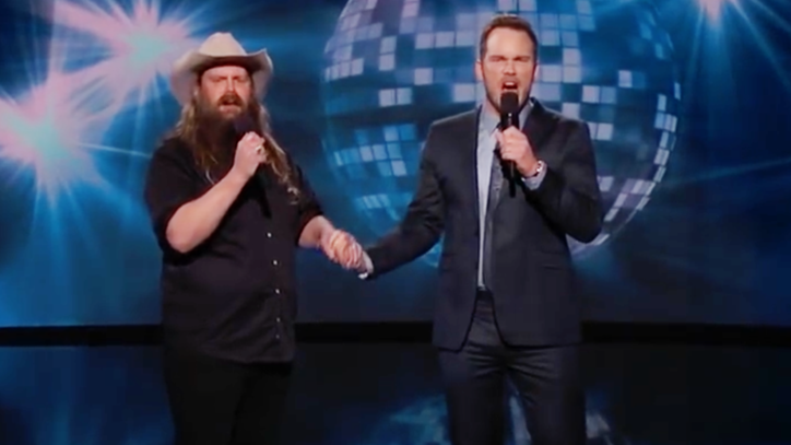 See Chris Stapleton, Chris Pratt Rekindle Bromance With 'Dirty Dancing' Duet