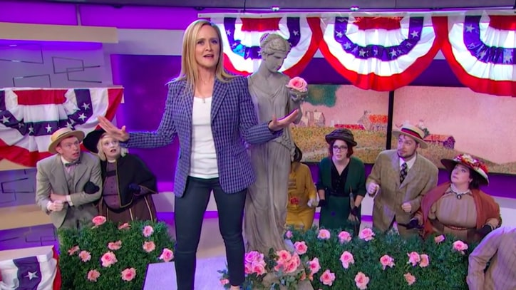 See Samantha Bee Call Kris Kobach a 'Racist Music Man' in Spoof