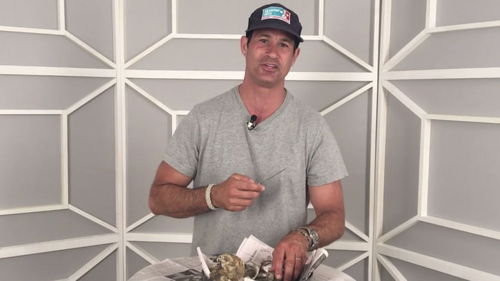 Sam Calagione Teaches Us How to Shuck an Oyster