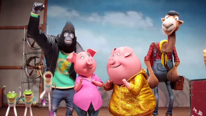'Sing' Review: Celebrity-Filled Animated Movie Is Slightly Out-of-Tune