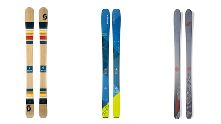 The Best New Skis of 2017
