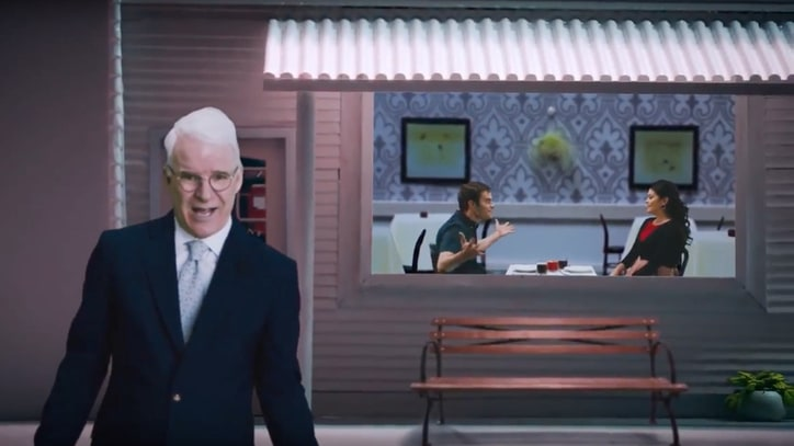 See Steve Martin's 'Caroline' Video With Bill Hader, Cecily Strong