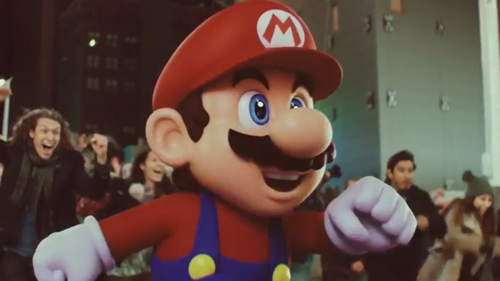 See the Live Action 'Super Mario Run' Trailer and Try the Game This Week